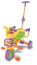 038497 Disney Micimackós 2 az 1-ben gyerek tricikli