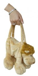 NC028 Plüss állatfigurás táska