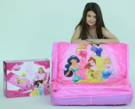 EF143 Disney hercegnők 2 az 1-ben ágy és fotel